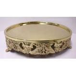 Cake Platter 15 ins. - GOLD