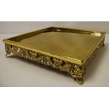 Cake Platter 20x20 GOLD ( SPECIAL ORDER ONLY )