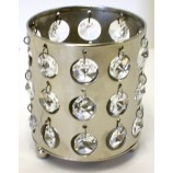Votive - Clear Crystal NICKEL