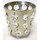 T-Lite - with clear Crystals - Nickel