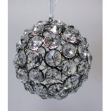 Crystal Balls 4 ins. - Nickel