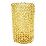 Crystal Cylinder (L) - GOLD