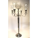 Candelabra with Hurricanes & Crystal Ball