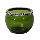 Votive - Crystal Jewels Apple Green