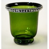 Votive Crystal Jewles - Green