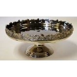 Floral Tray on Pedestal - Nkl.