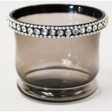 Votive Crystal Jewles - Grey
