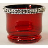 Votive Crystal Jewles - Red