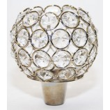 Crystal Ball 3 ins. with Pegs for Candelabra's