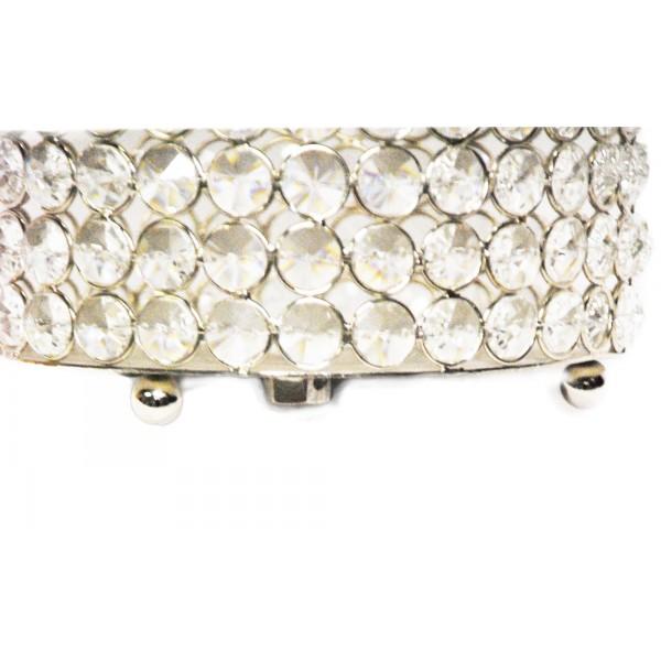 Crystal Cylinder Vase Nkl Brass4u