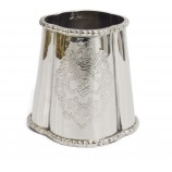 Planter-Vase Engraved Nkl