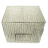 "Crystal Money & Gift Card  Box. NICKEL 15"" x 12"""