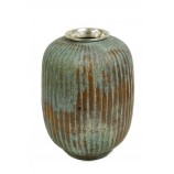 Flower Vase - Patina finish
