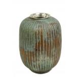 Flower Vase - Patina finish