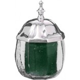 Glass Jar w/metal lid