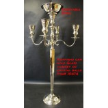 Candelabra With Bowl-Nkl.