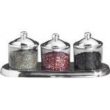 S/3 round jars-small