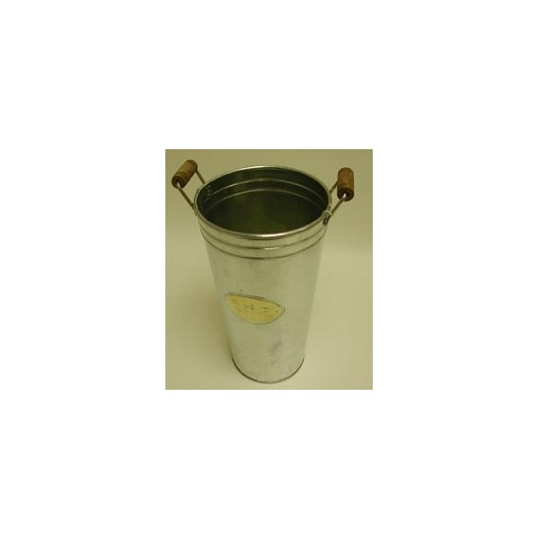 Galvanised Vase Brass4u