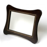 MIRROR W/WOOD FRAME