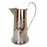 Pitcher Embossed Silver