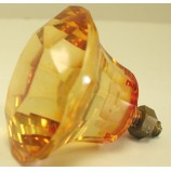 Glass Knob - Amber