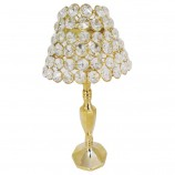 Table Lamp - Clear Crystal GOLD