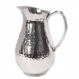 Pitcher Hammered Silver