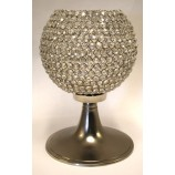 Crystal Ball on Metal Stand NKL.