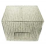 "Crystal Money & Gift Card  Box. NICKEL 15"" x 12"""