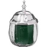 Glass Jar w/metal lid