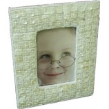 Picture Frames  With Shell Beads