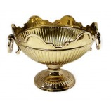 Crown Bowl 8 3/4 ins.  Brass **SPECIAL ORDER ONLY**